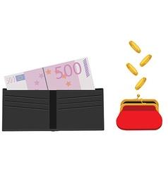 Make money concept vector image