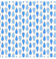 rain drops seamless pattern background for print vector image vector image