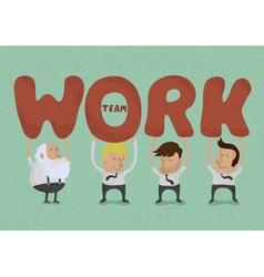 Teamwork3 vector image