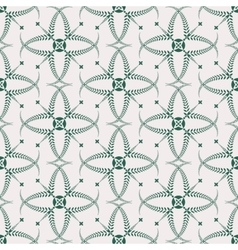Religion seamless pattern laurel wreath lace vector