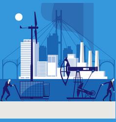 environmental safety concept vector image