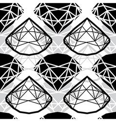 seamless deamond new 01 vector image