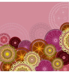 Arabesques Patterns Background vector image