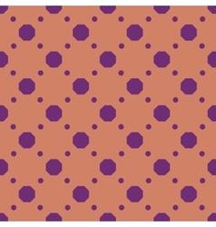 Polka dot geometric seamless pattern 2012 vector
