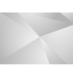 Grey abstract concept polygonal tech background vector