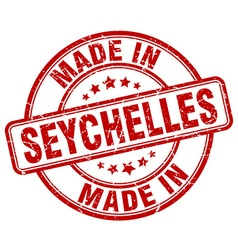 Made in seychelles vector