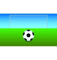 Goal vector image vector image