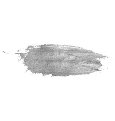 Silver stain isolated on white background vector