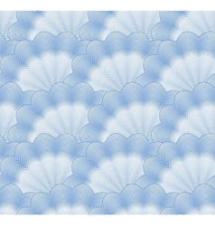Seamless monochrome blue pattern vector