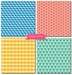 Colorful seamless pattern 01 vector
