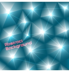 Abstract three-dimensional background vector