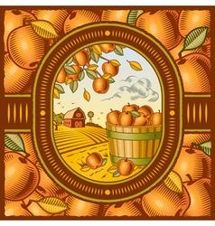 Apple harvest vector
