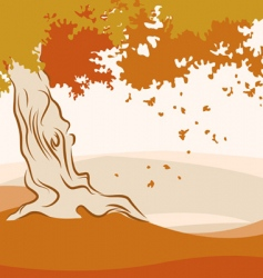 autumn season vector image vector image