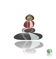 Stone Spa Background vector image