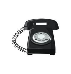 telephone icon image vector image
