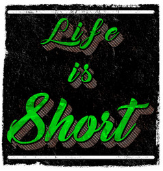 Vintage slogan t shirt graphic design vector