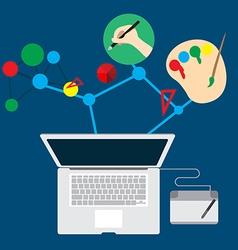 Business job graphic design inspiration vector
