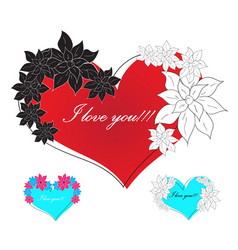 Love red vector