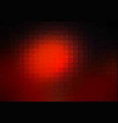 Red brown black abstract rounded mosaic background vector