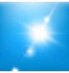 Sky BlueBeams vector image vector image