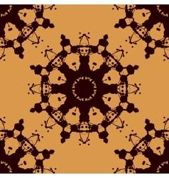 Rorschach inkblot test seamless abstract vector