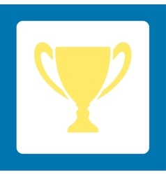 Cup icon from award buttons overcolor set vector