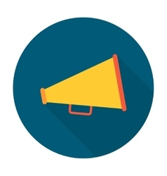 Megaphone flat icon vector image vector image
