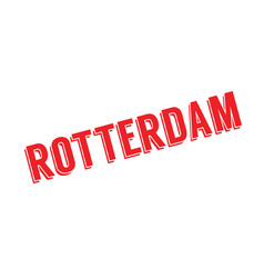 Rotterdam rubber stamp vector