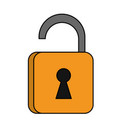 Safety key lock vector