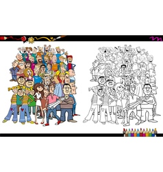 color book 476 m vector image vector image