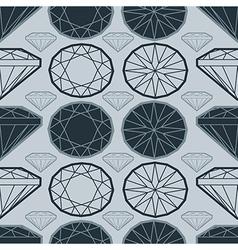 seamless deamond new 02 vector image