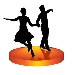 Dance a waltz vector