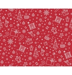 Print for christmas decorations vector