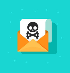 Email spam icon scam e-mail message vector