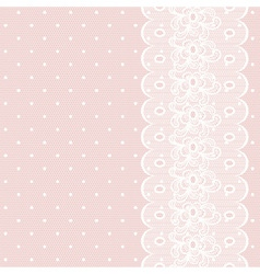 Lacy retro background vector