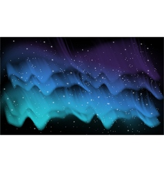 Aurora background vector