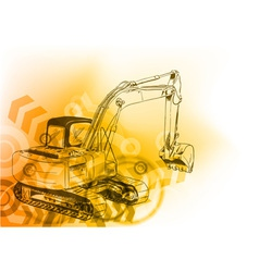 big loader vector image