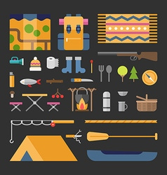 Travel and tourism tourists appliances and stuff vector