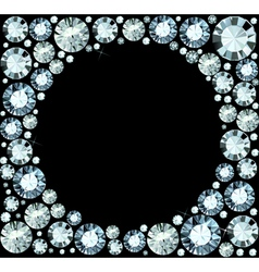 Diamond Frame vector image vector image