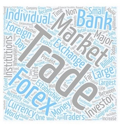 Forex for the future text background wordcloud vector
