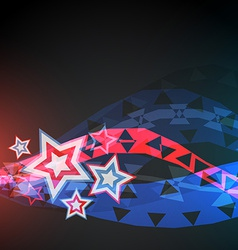 Abstract 4th of july vector