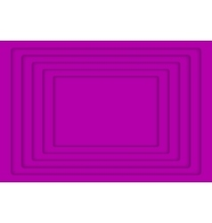 Purple concentric 5 rectangle background vector