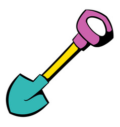 Shovel icon icon cartoon vector