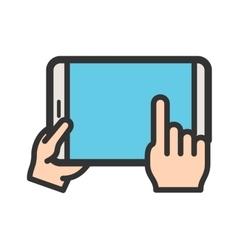 Using tablet vector