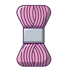 Coil of thread icon cartoon style vector