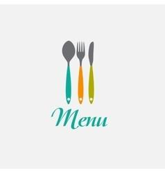 Restaurant Menu Background Template vector image