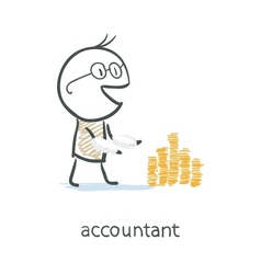 Accountant vector