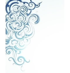 Creative ornament vector image
