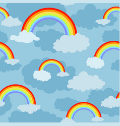 Rainbow pattern vector