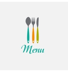 Restaurant Menu Background Template vector image